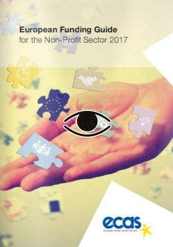 ECAS Funding Guide For The Non-Profit Sector 2017