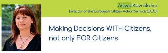 ECAS Director's Latest Article On Democracy And Civic Participation