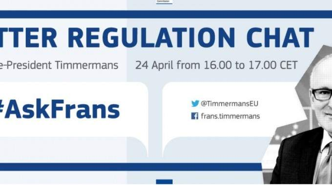 #AskFrans – Better Regulation Chat
