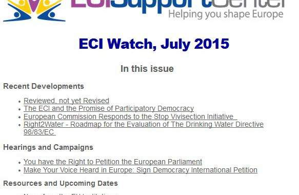 July's ECI Watch Is Out!