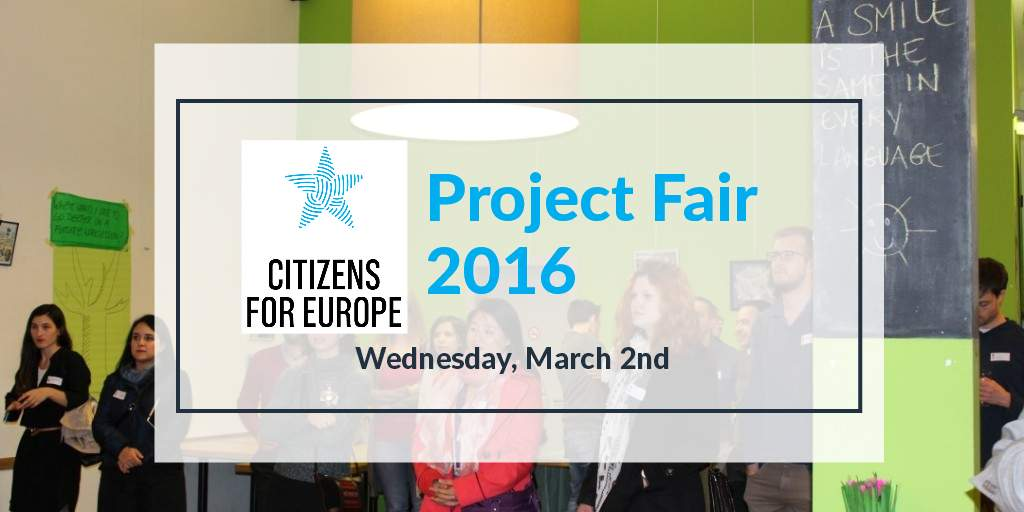 ECAS At The CFEU Project Fair On 2 March