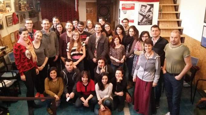 ECAS Volunteers Participate In An Active Citizenship Training In Belgrade