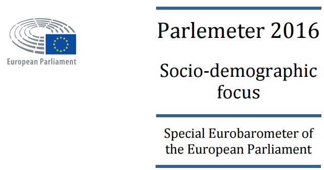 Eurobarometer 'Parlemeter' 2016 – Key Findings