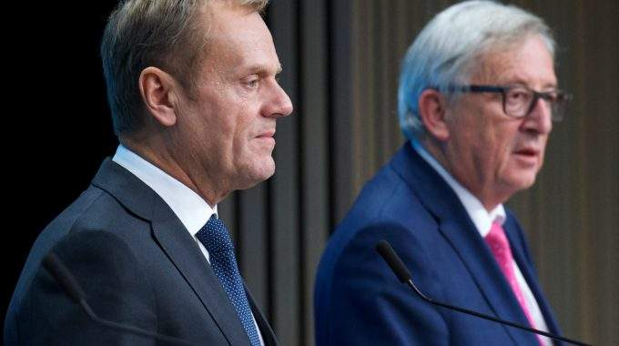 EU Leaders Agree UK Withdrawal Negotiations Process