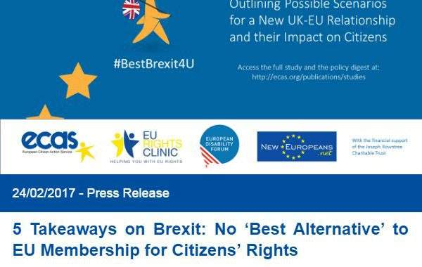 5 Takeaways On Brexit: No 'Best Alternative' To EU Membership For Citizens' Rights