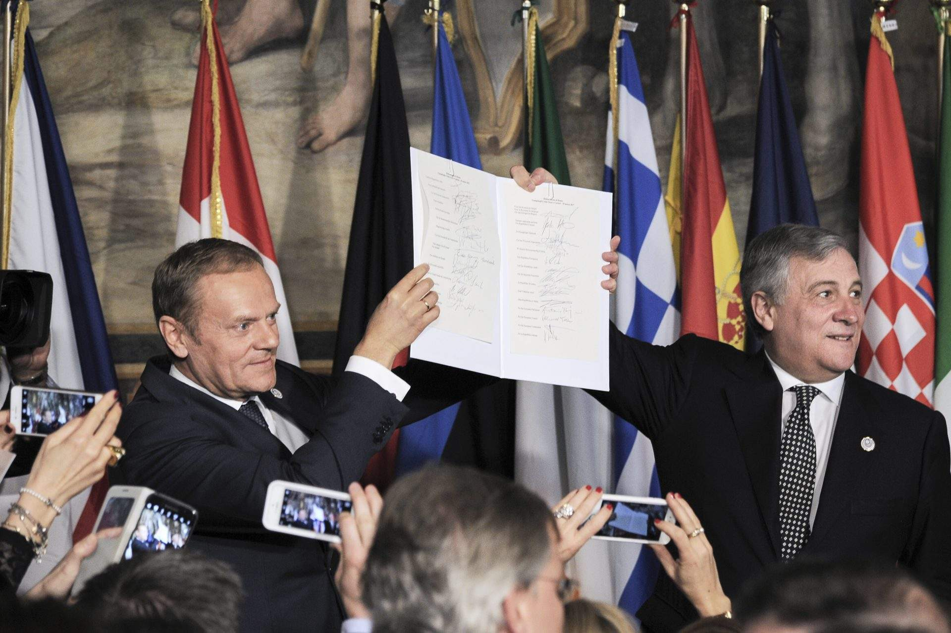 Rome Declaration: EU Leaders Open Door To Multispeed Europe