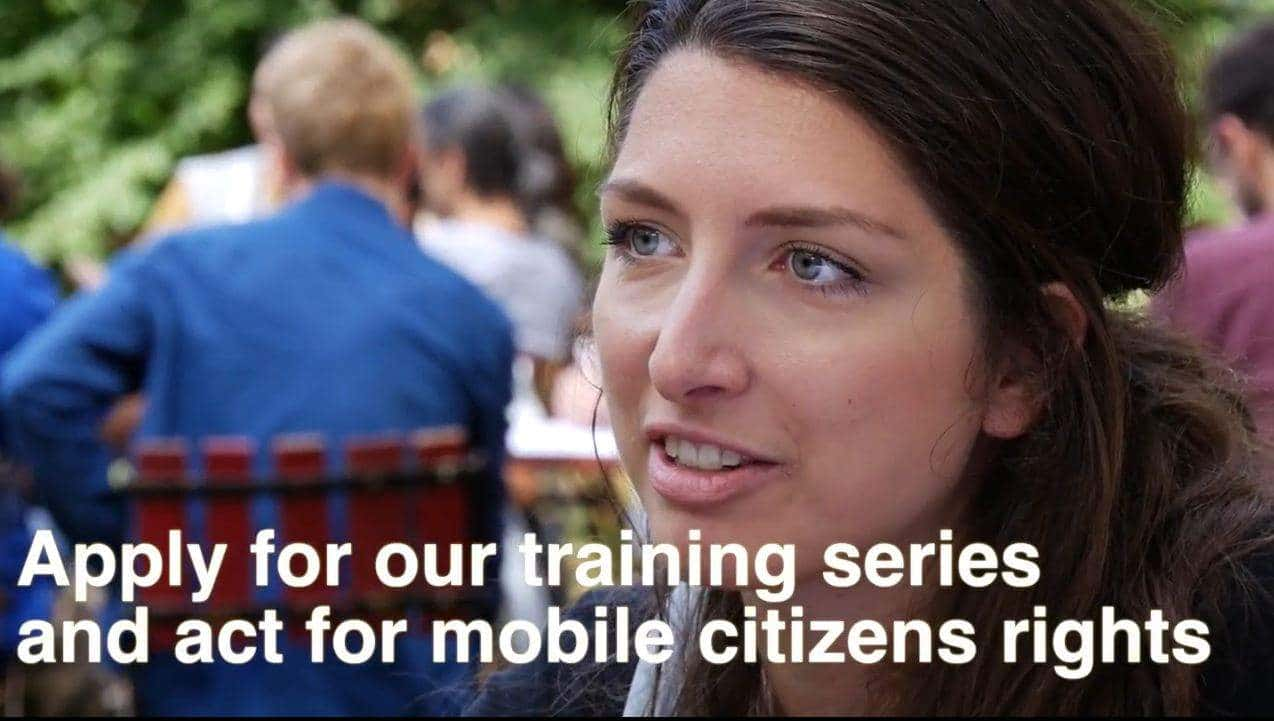 Call For Participants – Training For Free Movement Activists