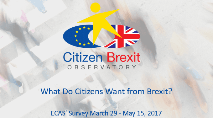 Press Release: What Do Citizens Want From Brexit? – Free Movement, Healthcare And Non-Discrimination