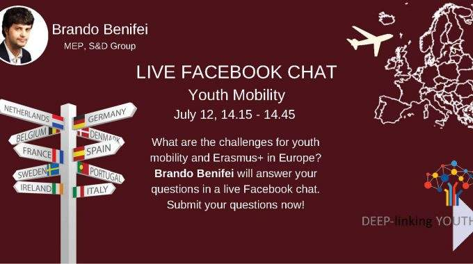 Live Chat – Youth Mobility And Erasmus+