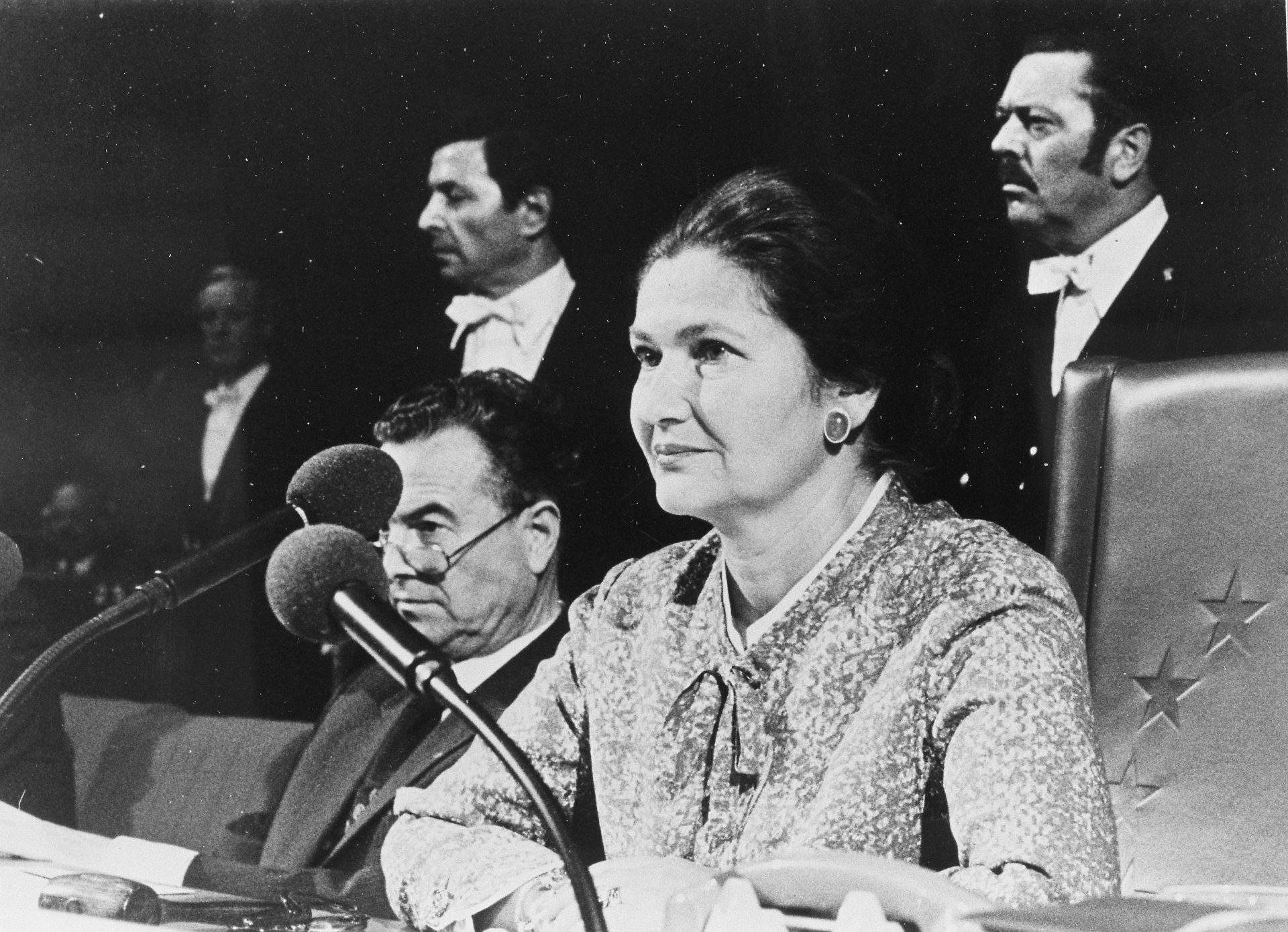 Founder And First President Of ECAS – Simone Veil – Given Honourable Burial In Pantheon