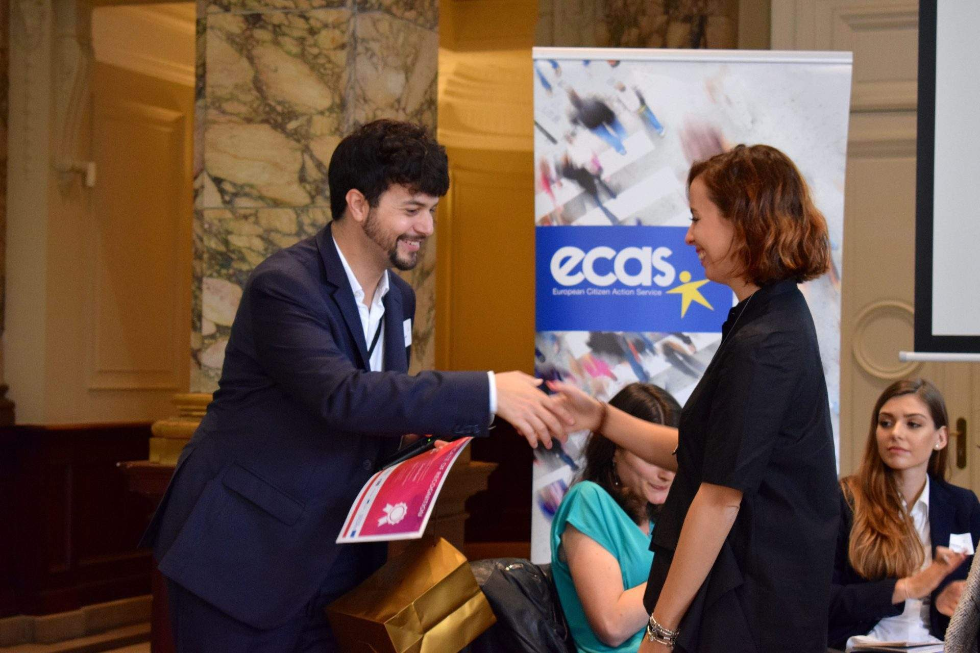 Brando Benifei And Carola Rivetti
