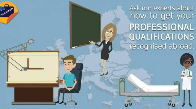 Your Europe Advice Chat On Recognition Of Professional Qualifications