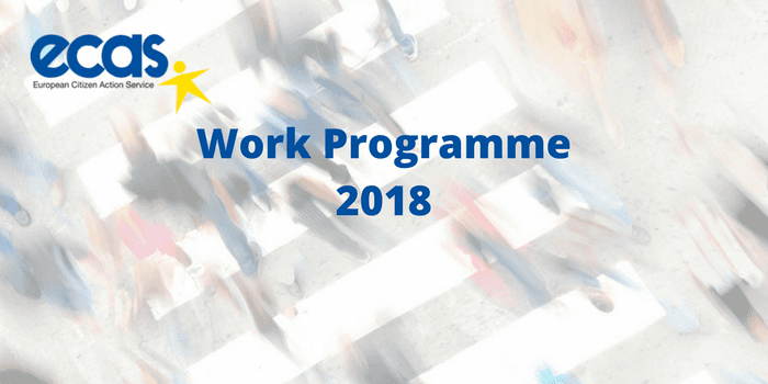 ECAS' Work Programme 2018 – Empowering Citizens And Enhancing Participation