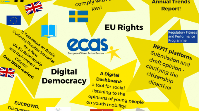 ECAS Activities Of 2017: A Review