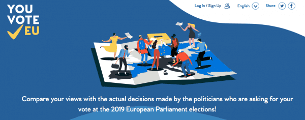 YouVoteEU: The New Platform For The 2019 European Elections And Beyond!