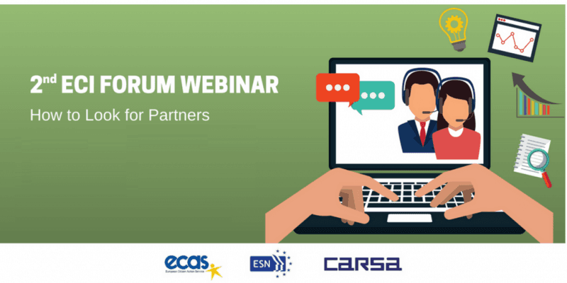 ECI Forum Webinar:  How To Look For Partners