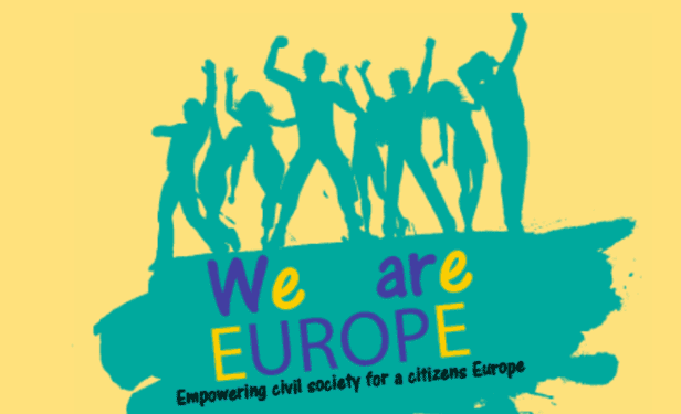 ECAS' Workshops Feature At The We Are Europe Academy