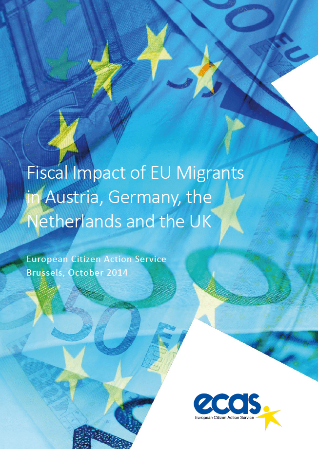 Fiscal Impact Of EU Migrants In Austria, Germany, The Netherlands And UK