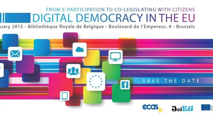 Digital Democracy In The EU Conference: Register Now!