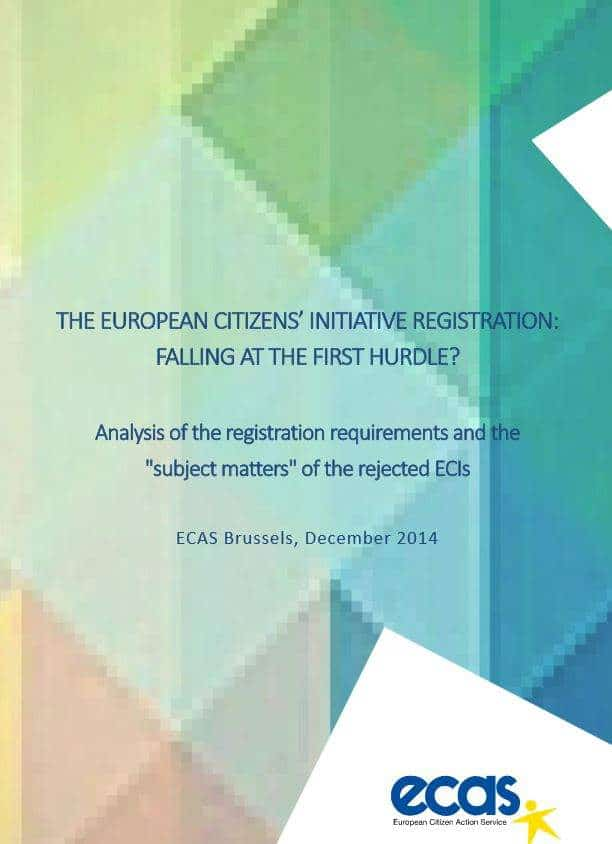The ECI Registration: Falling At The First Hurdle?