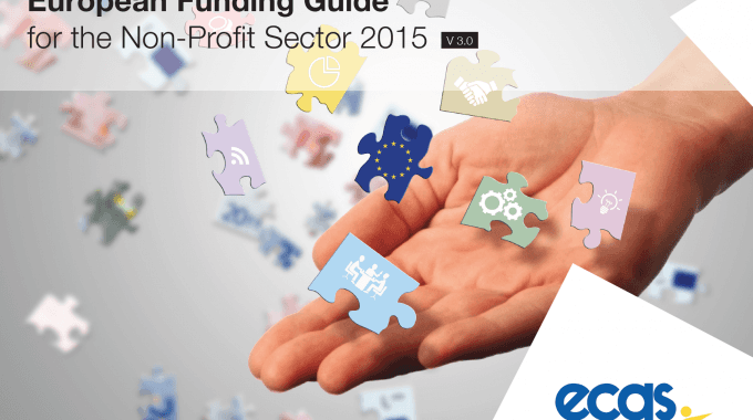 ECAS's 2015 Funding Guide For The Non-profit Sector Coming Very Soon!