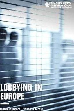 Transparency International Lobbying In The EU