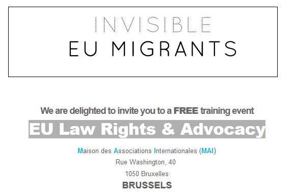 Traning Seminar: EU Law Rights & Advocacy