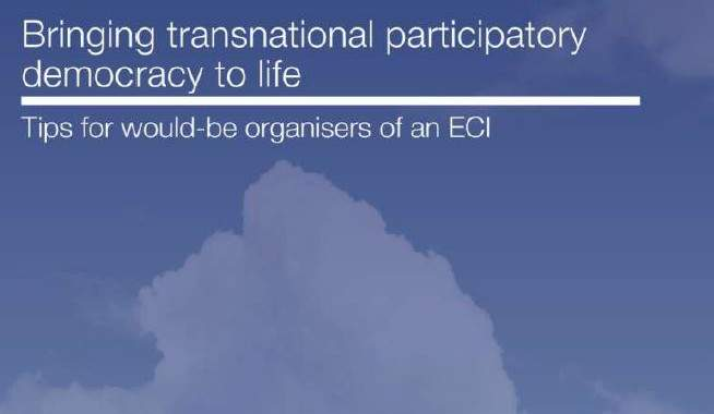 Tips For ECI Organisers ECAS