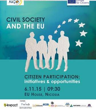 Join Us In Cyprus To Debate Opportunities For Citizen Engagement With EU Institutions