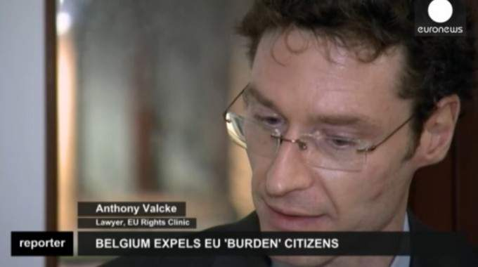 EU Rights Clinic's Lawyer Anthony Valcke On Euronews About Belgian Expulsions