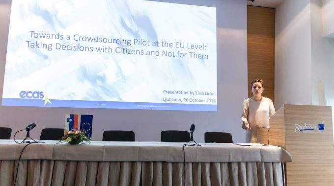 EUCROWD Launched At Conference In Slovenia