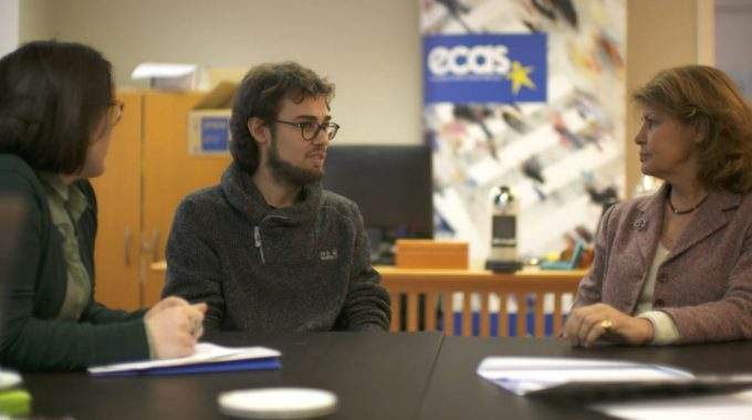 ECAS EVS Volunteer Features On EuroparlTV