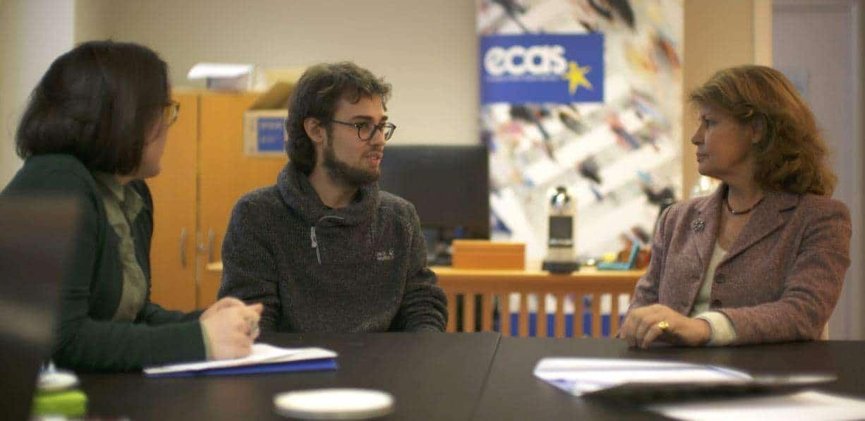 ECAS EVS Volunteer Features On EuroparlTV