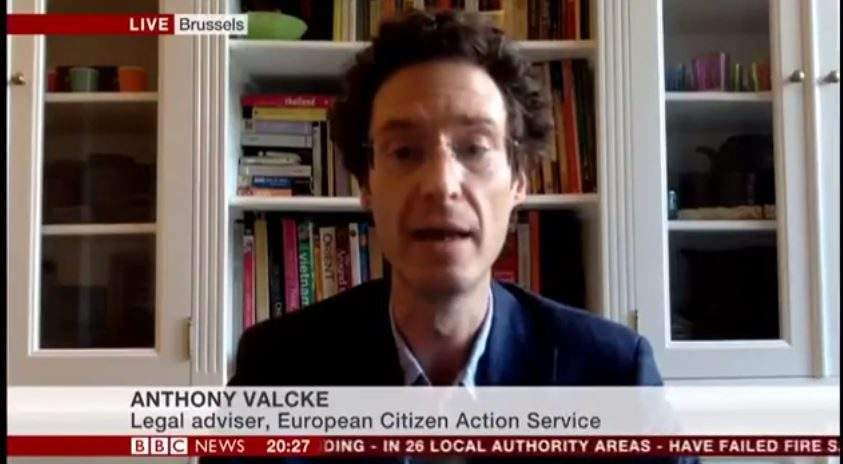 Your Europe Advice Legal Expert On BBC News