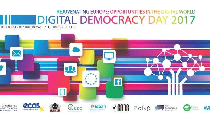 Digital Democracy Day 2017 – Rejuvenating Europe: Opportunities In The Digital World