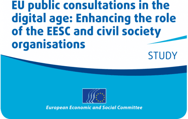 EU Public Consultations In The Digital Age: Enhancing The Role Of The EESC And Civil Society Organisations