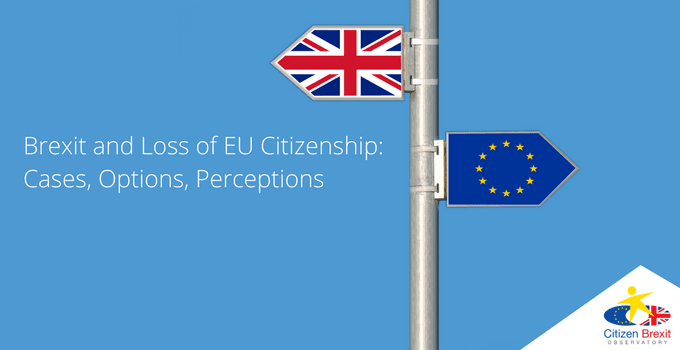 Brexit's Forgotten Citizens: Alternatives To EU Citizenship For 'Static' UK Nationals
