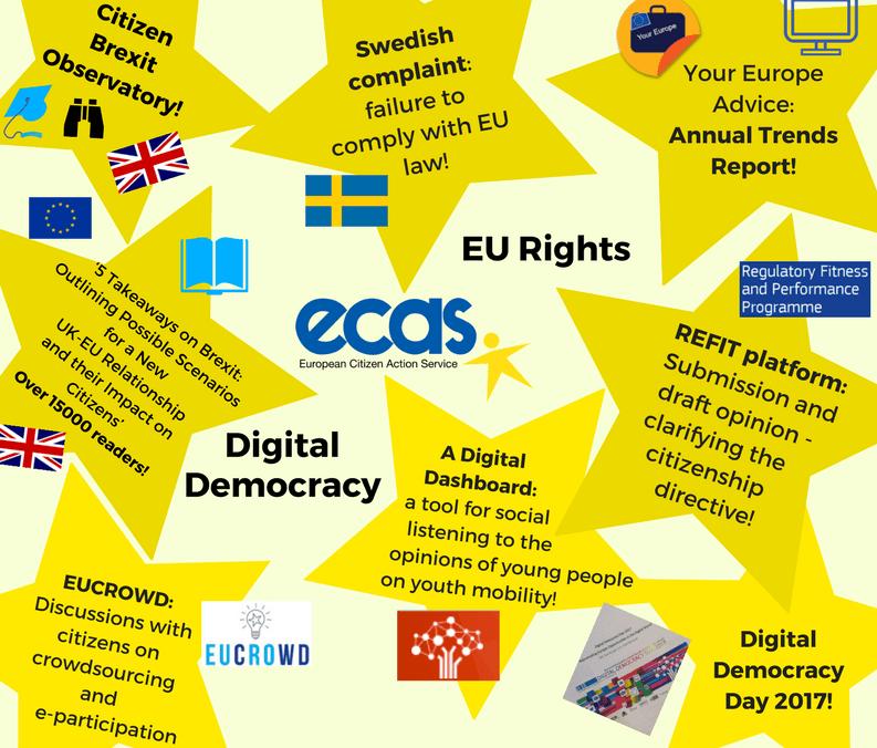 ECAS Activities Of 2017: A Review