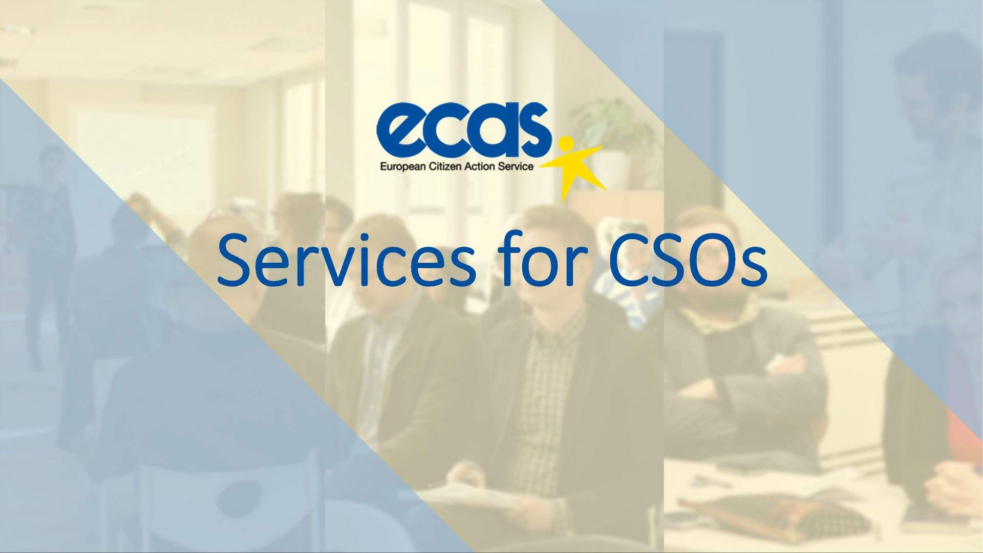 Services for Civil Society Organisations - ECAS