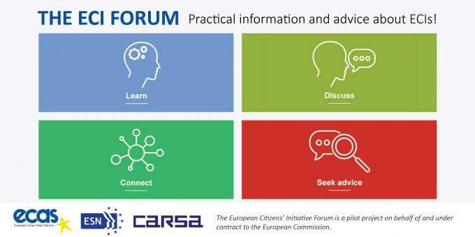 The Newly Launched ECI Forum Provides User-Friendly Advice And Information To ECI Organisers