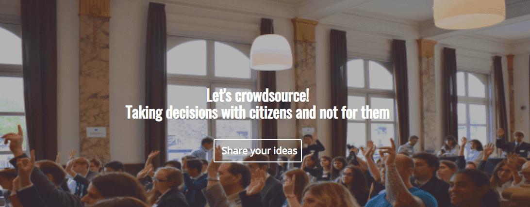ECAS Launches Its Own Crowdsourcing Platform!