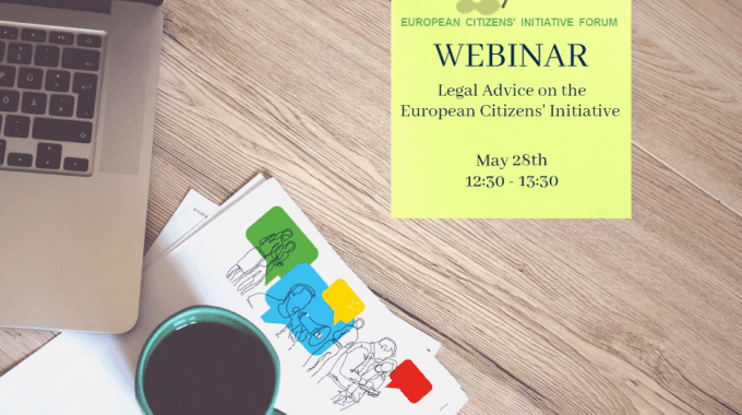 Webinar: Legal Advice On Drafting A European Citizens' Initiative