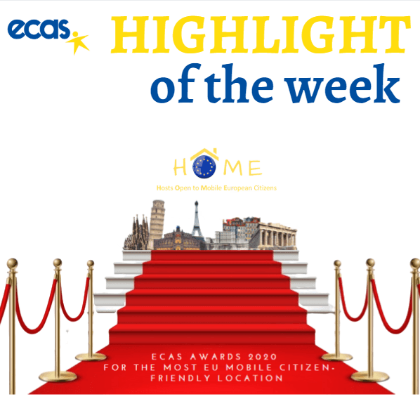"ECAS Highlight Of The Week – ECAS Awards 2020 ""@HOME"""