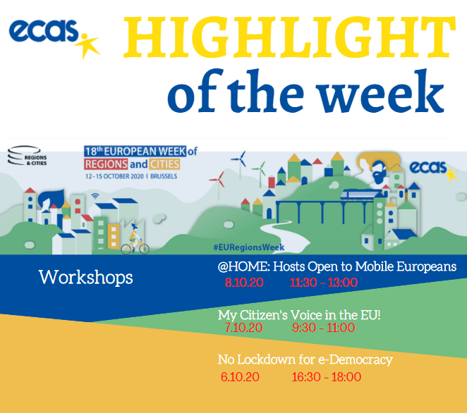ECAS Highlight Of The Week: Next On The Agenda: Empowering Citizens