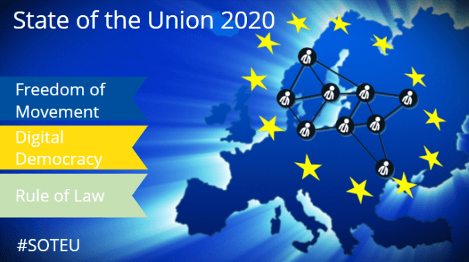State Of The Union Address 2020: A Union Of Vitality Can Only Emerge Through Active European Citizenship
