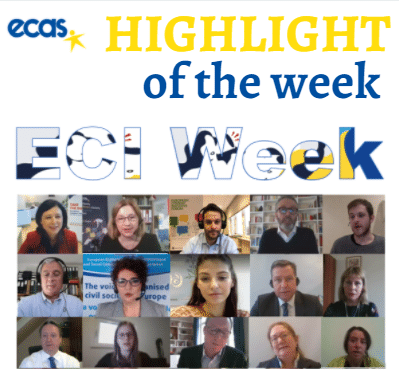 ECAS Highlight Of The Week – Design, Engage, Impact: The European Citizens' Initiative 2.0 Driving Citizen Engagement In The EU
