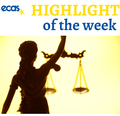 ECAS Highlight Of The Week – 'Walking The Walk' In Upholding EU Rule Of Law
