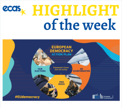 ECAS Highlight Of The Week – A Vision For Europe: The European Democratic Action Plan