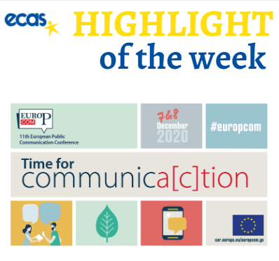 ECAS Highlight Of The Week – EuroPCom 2020: Building Our Future Together